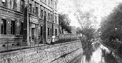 Rudawa i Dom Egipski. Około 1910.