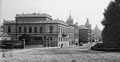 Ulica Kolejowa (Westerplatte). Około 1900.