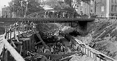 Most na Zwierzynieckiej. 1912.