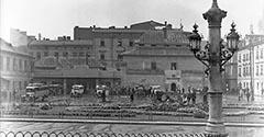 Dworzec autobusowy. 1929.