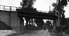Wiadukt na alei 29 Listopada. 1934.