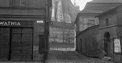 Nieistniejąca kamienica na Grodzkiej. 1933.