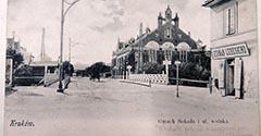 Most na ulicy Wolskiej (Piłsudskiego). 1903.