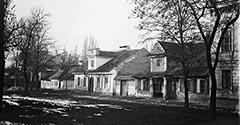 Ulica Biskupia. Około 1890.
