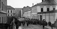 Ulica Dolnych Młynów. 1926. Część 2.