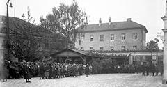 Ulica Dolnych Młynów. 1926.