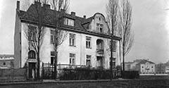 Ulica Chopina. 1926.