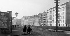 Ulica Długa i aleja Słowackiego. 1928.