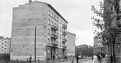 Ulica Juliusza Lea. 1938.