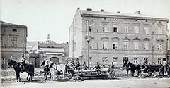 Ulica Starowiślna. 1887.