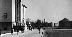 Aleja Mickiewicza i AGH. Lata 30. XX wieku.